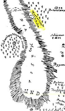 Mappe der Wulfter Bergfreyheit