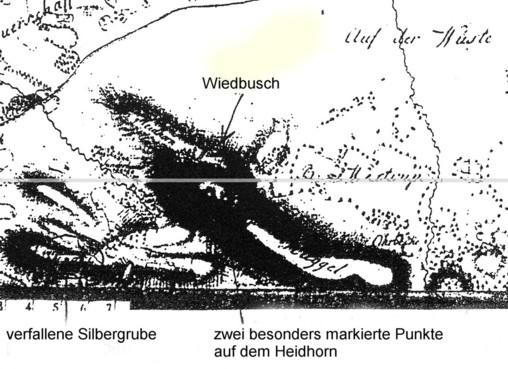 Specielle Carte des Hochstifts Osnabrück