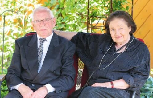 Ehepaar Heinz und Anni Hannibal im Jahre 2011