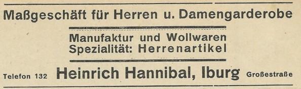 Gewerbliche Anzeige 1930