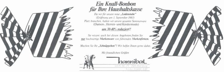 Werbung 1983