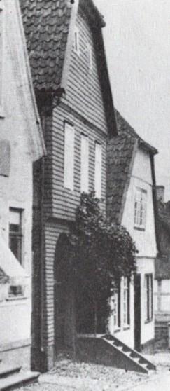 Schieferhaus von oben