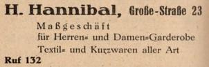 Werbung um 1949
