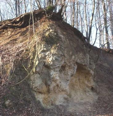 Spuren eines ehem. Höhlensystems