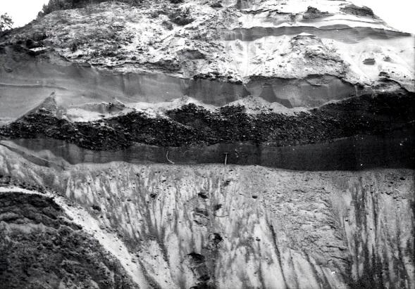 Ehemalige Erosionsrinne