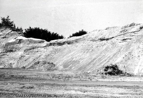 Westliche Abbauflanke 1976