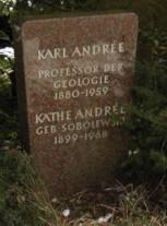 Grabstein Andrée