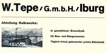 Anzeige 1933