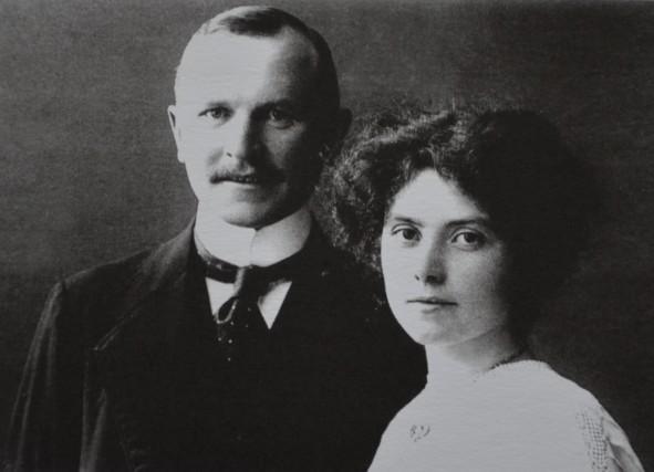 August und Charlotte Lamby, geborene Kramer