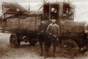 Bier-Lieferwagen