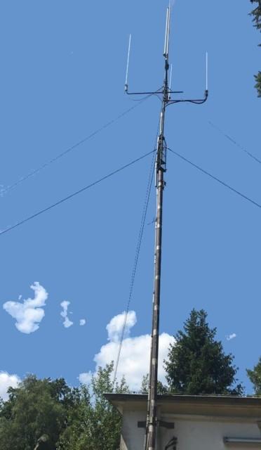 Antenne des FM-Relais DM0DOS