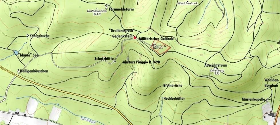 Lageplan Dörenberg