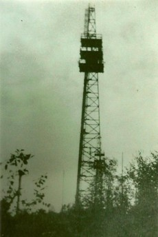 Der östliche Funkturm
