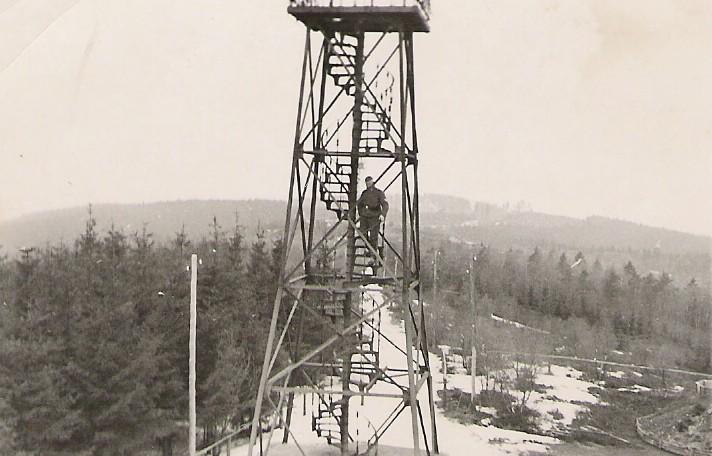 Aussichtsturm, 1942