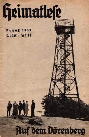 """Cover der Zeitschrift """"Heimatlese"""""""