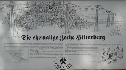 Erläuterungstafel Hilterberg