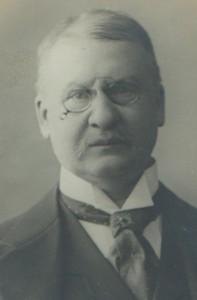 Passbild von Christian Dütting, ca. 1911