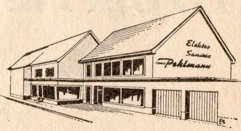 Auszug aus einer gewerblichen Anzeige: Elektro - Sanitär - Küchen Franz Pohlmann