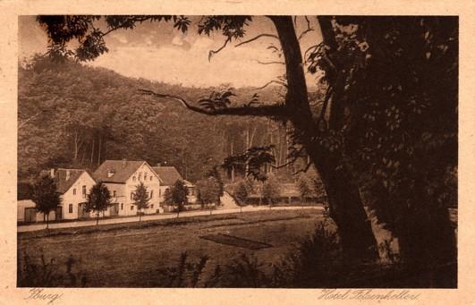 Ansichtskarte aus dem Verlag von A. Hankers, Iburg, 1922