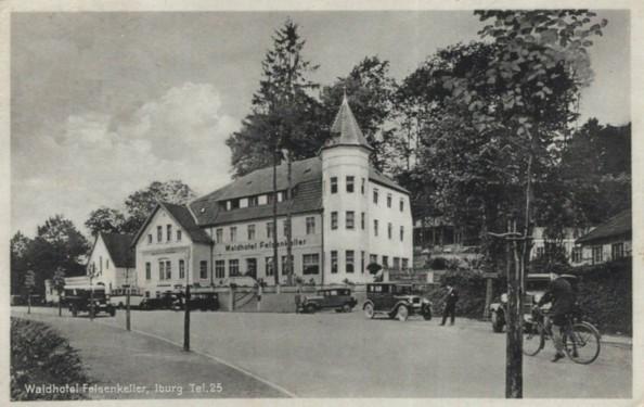 Ansichtskarte aus dem Verlag von Rudolf Hankers, Iburg, 1930
