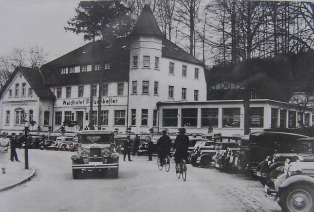 """""""Waldhotel Felsenkeller"""", 1936"""