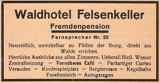 Gewerbliche Werbung, 1930