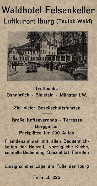 Gewerbliche Werbung, 1937