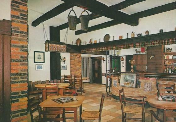 Ansichtskarte von der Bierstube, um 1963