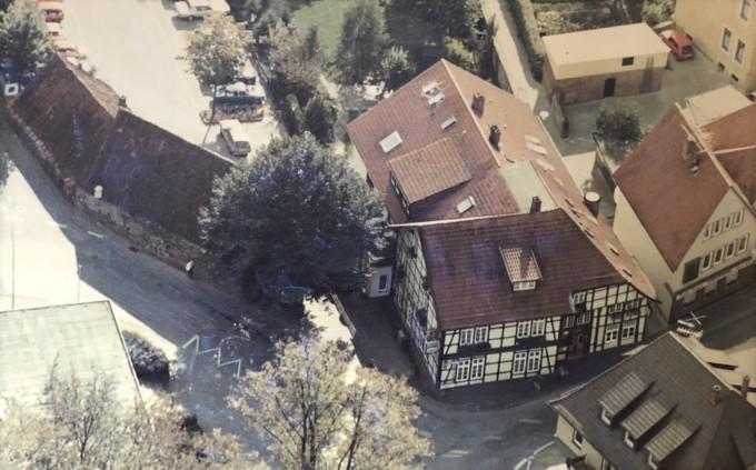 Luftbild vom Anwesen Fischer-Eymann