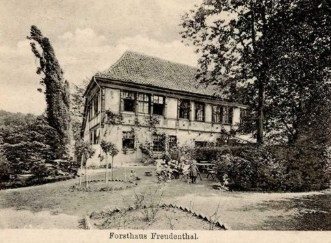 Postkarte, gelaufen 1903