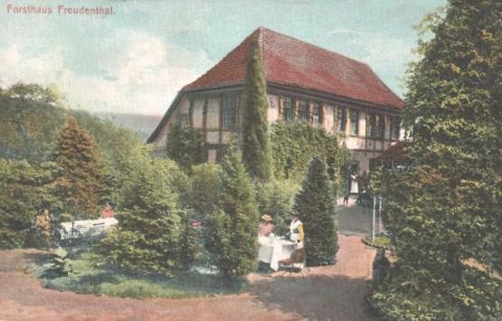 Postkarte, gelaufen 1908