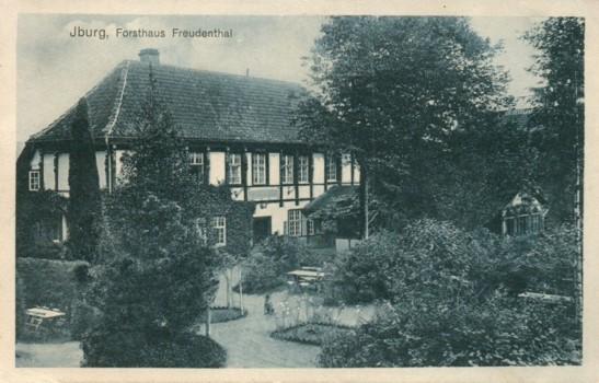 Postkarte, gelaufen 1909