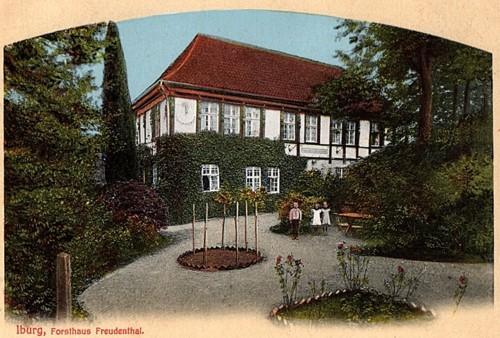 Postkarte aus dem Verlag A. Hankers, Iburg, 1910