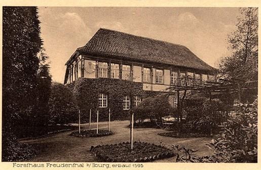 Postkarte aus dem Verlag M. Grundt, Osnabrück, 1926