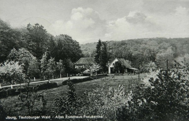 Postkarte, gelaufen 1933