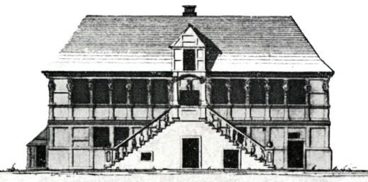 Entwurfsansicht Südseite