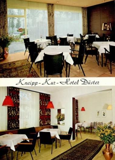 Ansichtskarte Kneipp-Kur-Hotel Düster, um 1965