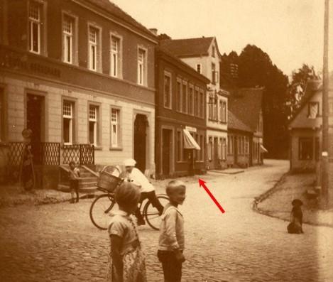 Blick auf die Gaststätte Westermeyer, um 1900