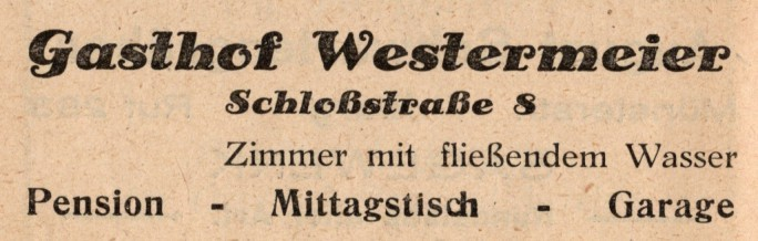 Werbung 1935
