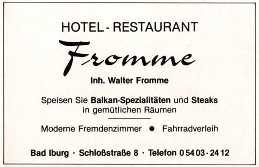 Werbung 1985