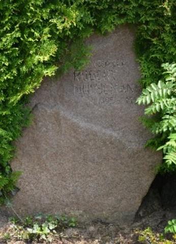 Grabstein von Robert Hülsemann