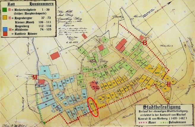 Plan vom 4. Dezember 1875