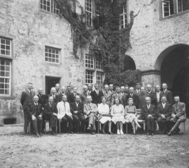 Tagung der Kreisbildstellen im Schloss Iburg