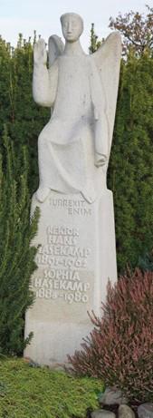 Grabstätte auf dem Martinusfriedhof in Hagen a.T.W.