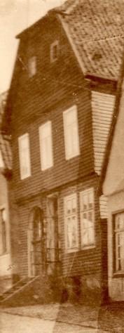 Wohnhaus Johannes Adolphus Vornbäumen nebst Familie