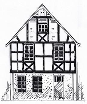 Entwurfszeichnung 1909