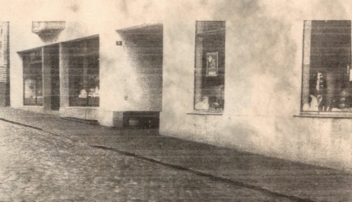 Gebäudeansicht von 1935 - 1955