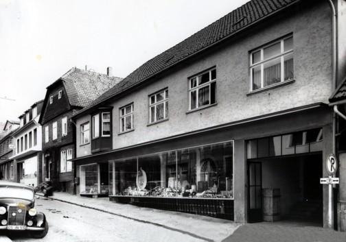 Ansicht von der Großen Straße, 1960