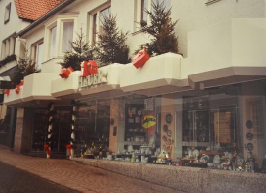 Ansicht Heuer von der Großen Straße, Dezember 1991