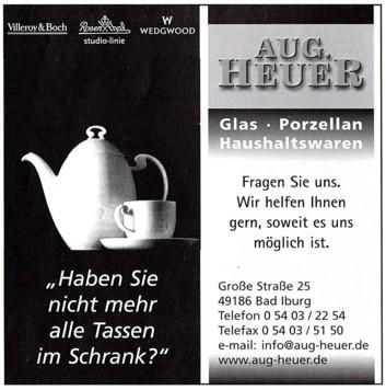 Gewerbliche Anzeige 2001